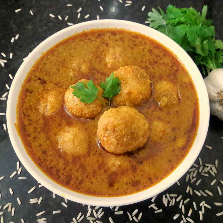 Photo of Rice balls curry by Mamta Joshi at BetterButter