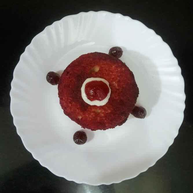 How to make नो बेक चुकंदर केक