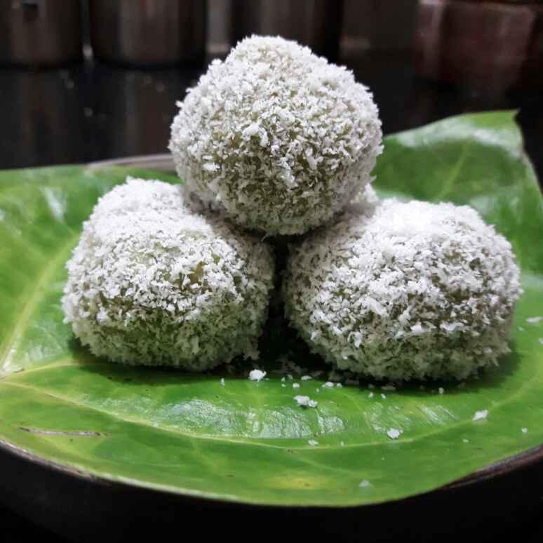 Photo of Paan coconut ladoo :yum: by Mamta Murarka at BetterButter