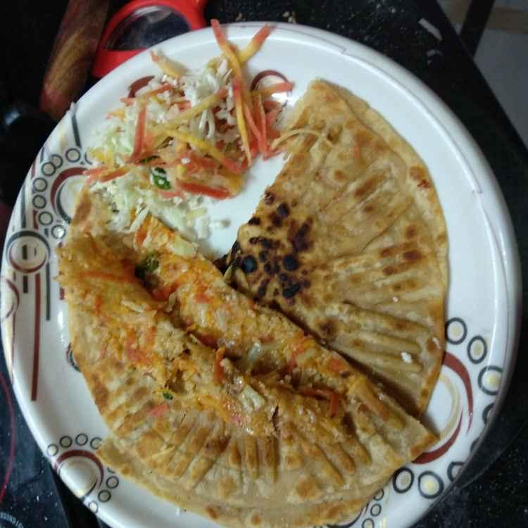 How to make Mix vege paratha