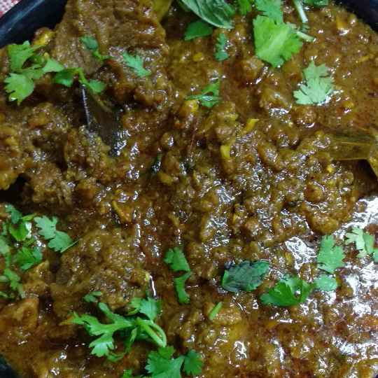 Photo of Keema Kaleji (mutton) by Mamta Rastogi at BetterButter