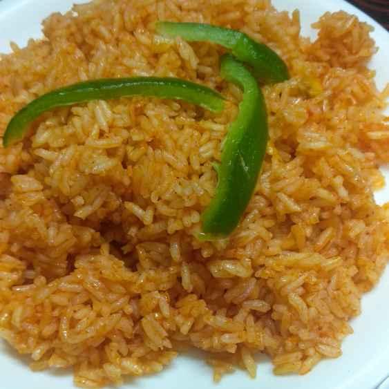 Photo of Garlic saucy red rice by Mamta Rastogi at BetterButter