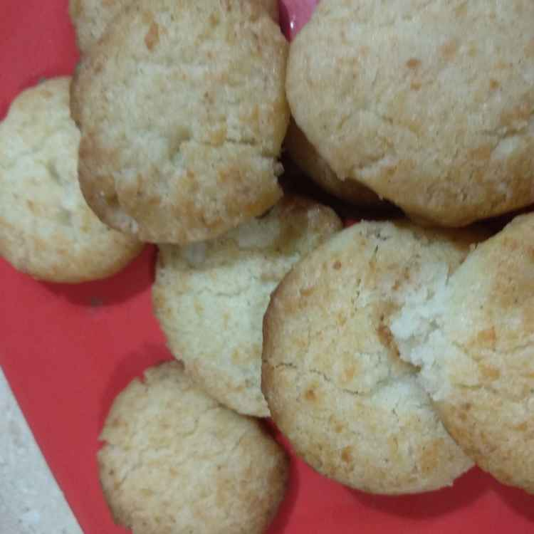 Photo of Coconut cookies by Mamta Rastogi at BetterButter