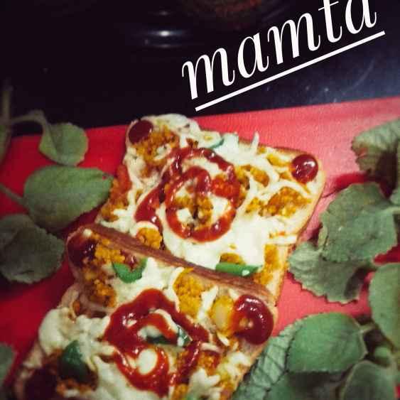How to make Vegetable daliya pizza