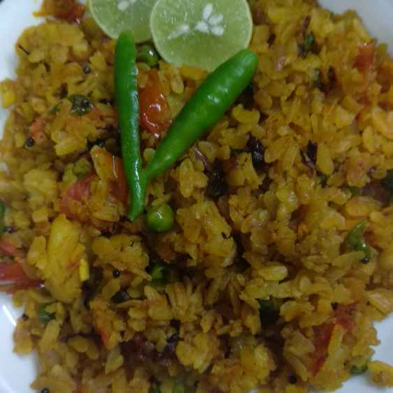 Photo of Vegetable poha by Mamta Rastogi at BetterButter