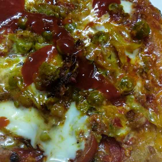 Photo of Makka vegetables pizza by Mamta Rastogi at BetterButter