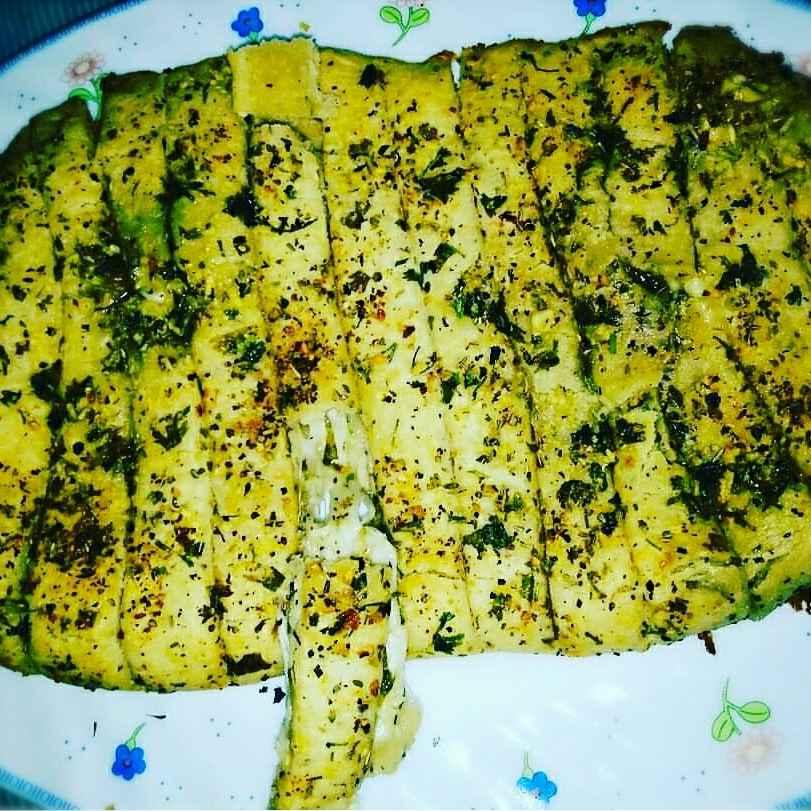 Photo of Cheesy Garlic Bread by Manami Sadhukhan at BetterButter