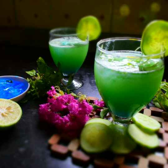 Photo of Minty Cucumber Mocktail by Manami Sadhukhan at BetterButter