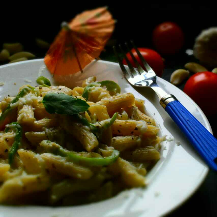 Photo of Penne Pasta With A Creamy Yogurt Sauce by Manami Sadhukhan at BetterButter