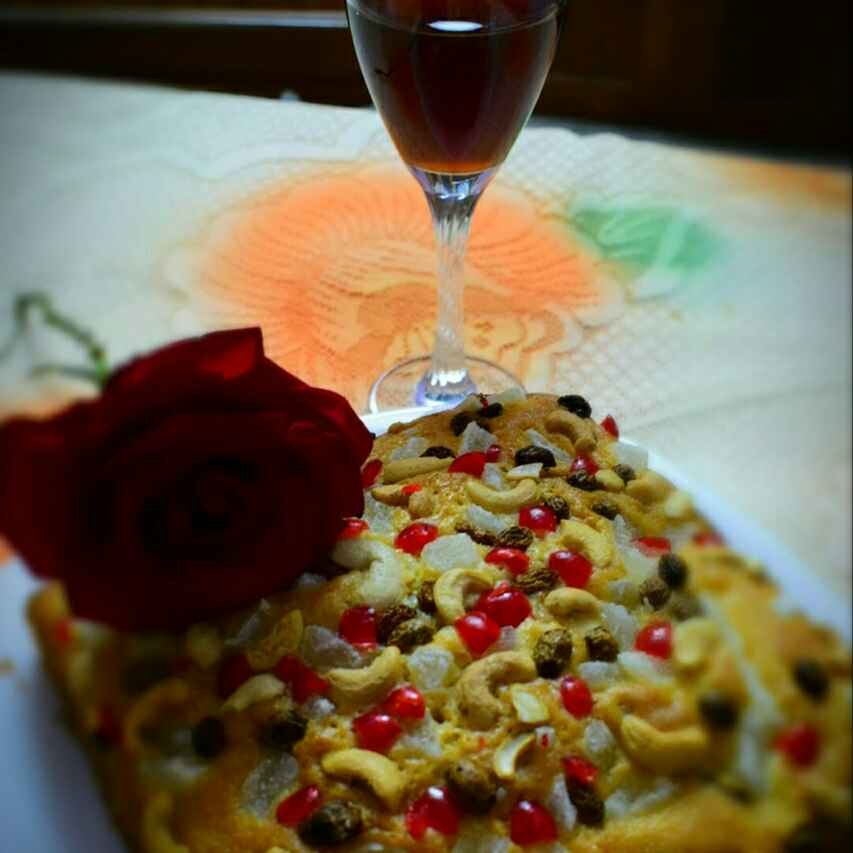 Photo of Yogurt Cake With Dried Fruits & Nuts by Manami Sadhukhan at BetterButter