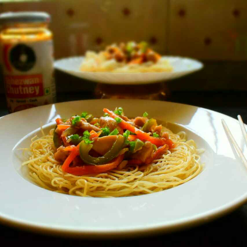 Photo of Chopsuey With Crispy Fried Noodles by Manami Sadhukhan at BetterButter