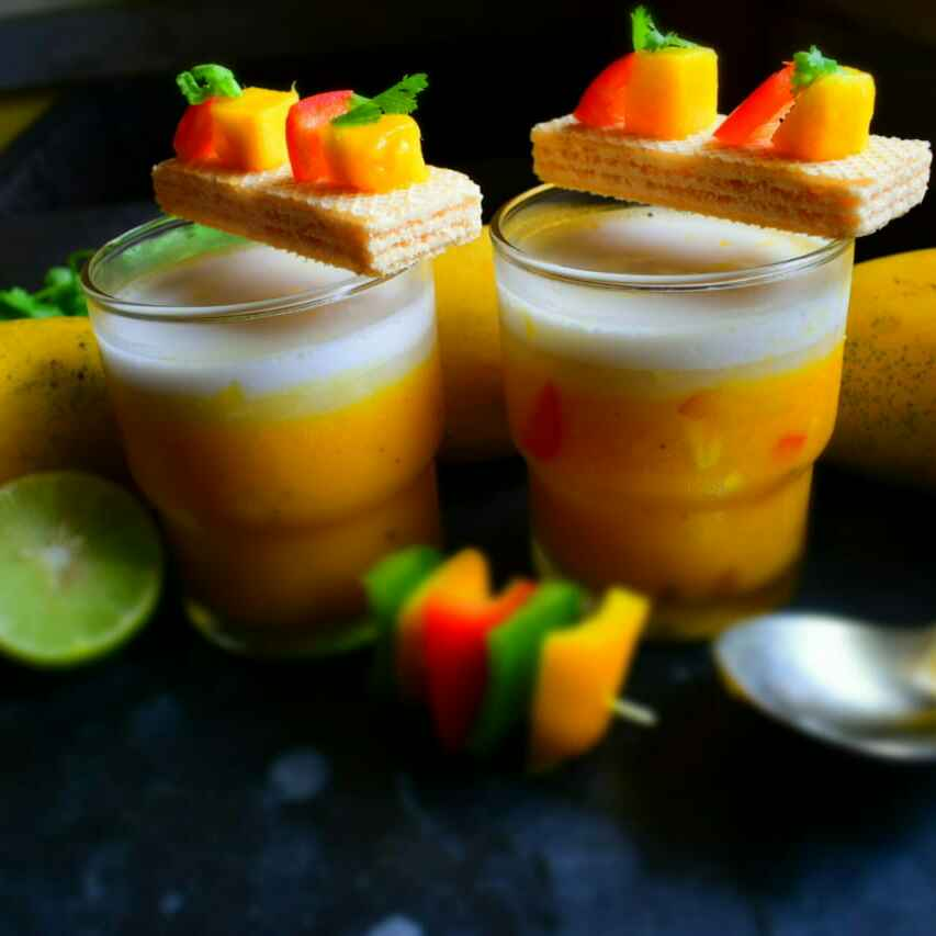 Photo of Chilled Mango Cappuccino With Coconut Milk by Manami Sadhukhan at BetterButter