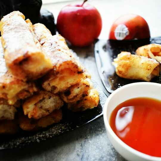 Photo of Apple French Toast Roll-Ups by Manami Sadhukhan at BetterButter