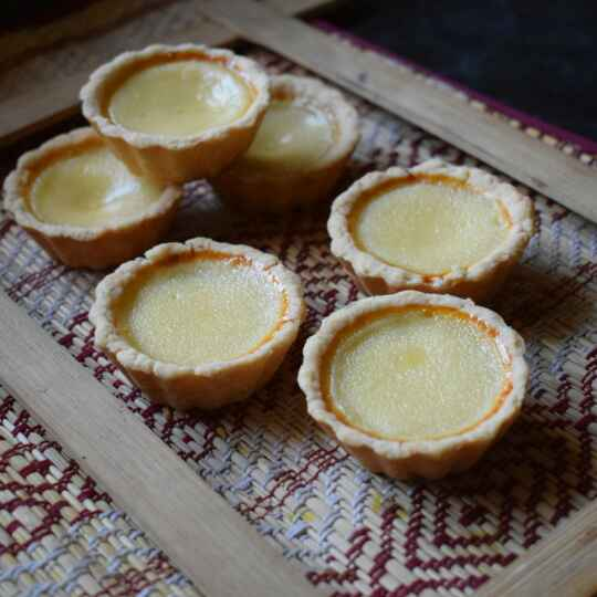 Photo of Mini Egg Tarts by Manami Sadhukhan at BetterButter