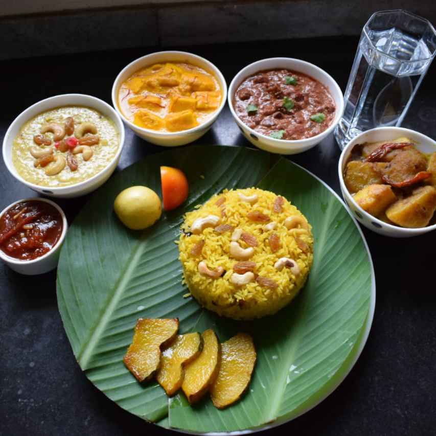 Photo of Lal-Halud Thali by Manami Sadhukhan at BetterButter