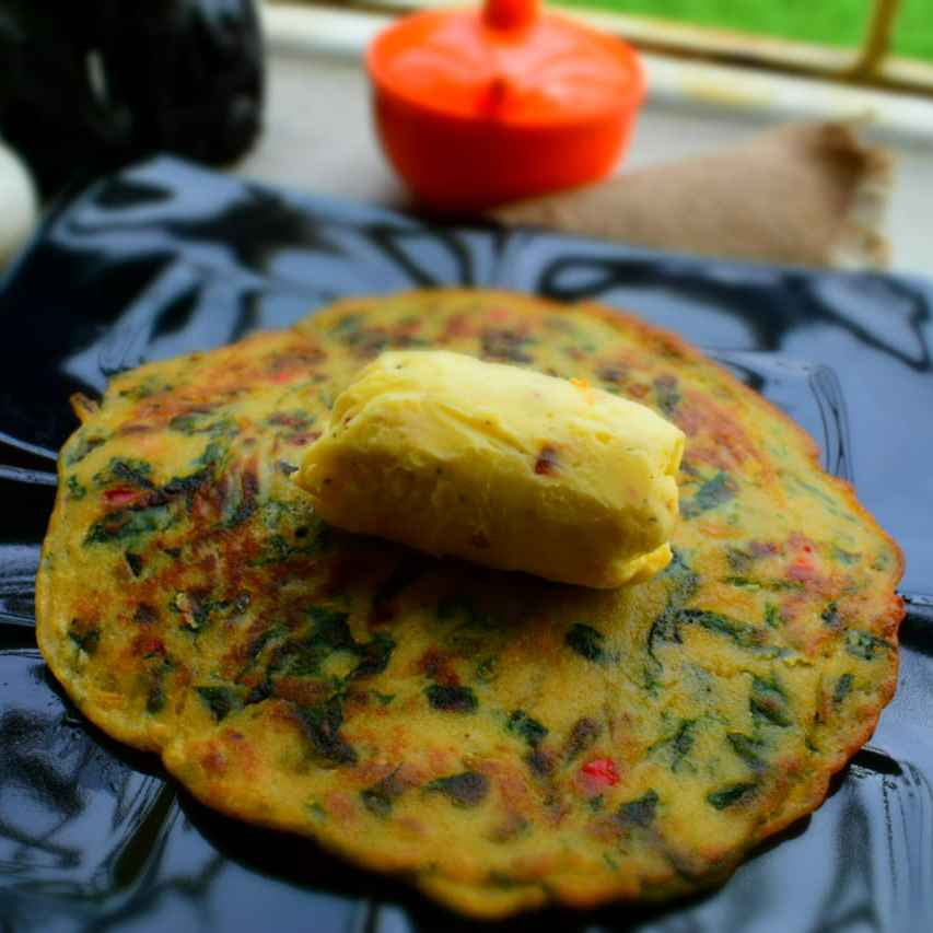 Photo of Atta Chila With Lemon butter by Manami Sadhukhan at BetterButter