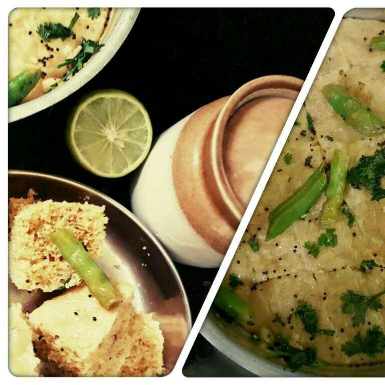 How to make Khaman Dhokla Recipe (Instant)