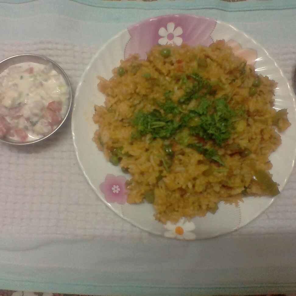 How to make तवा पुलाव
