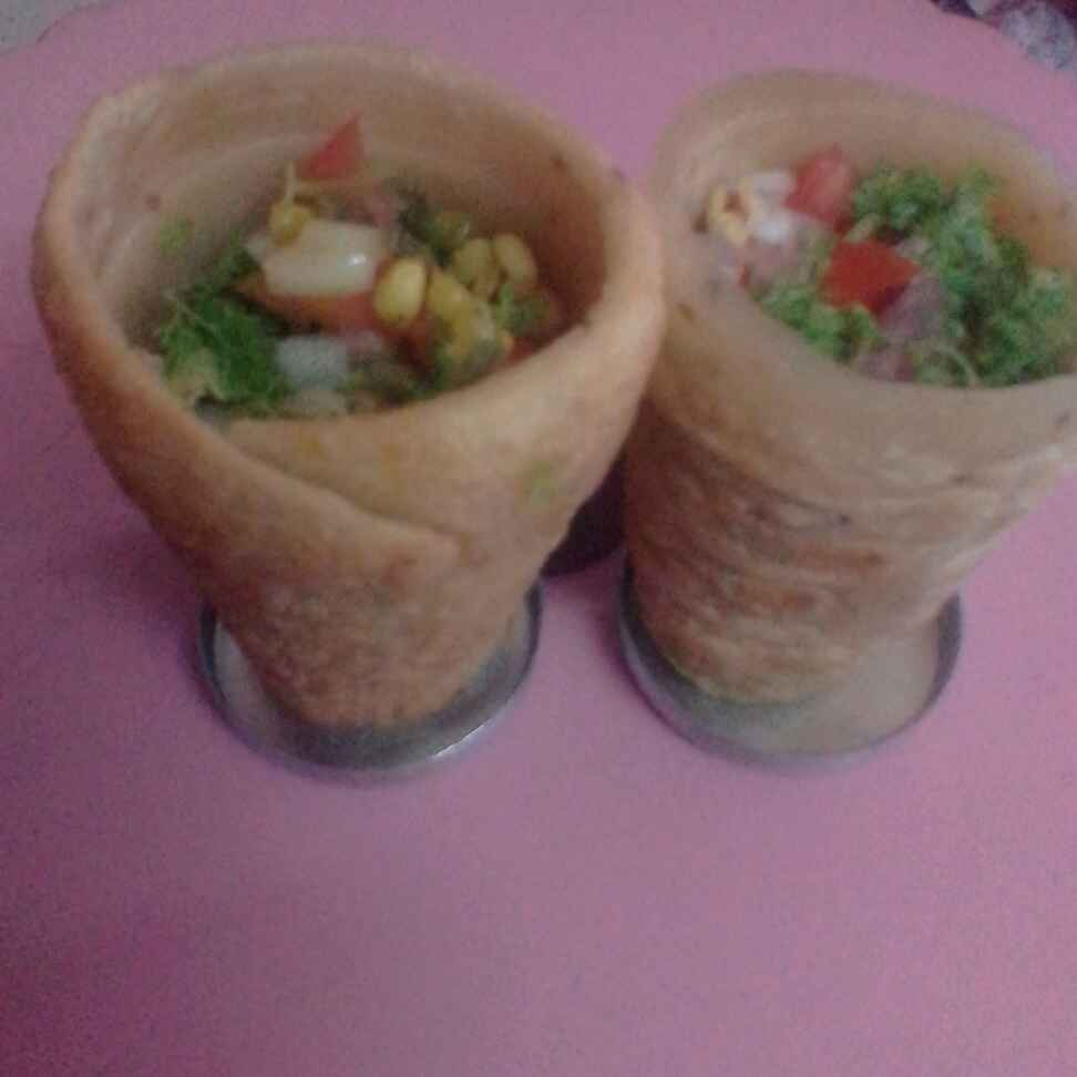 How to make कोन चाट