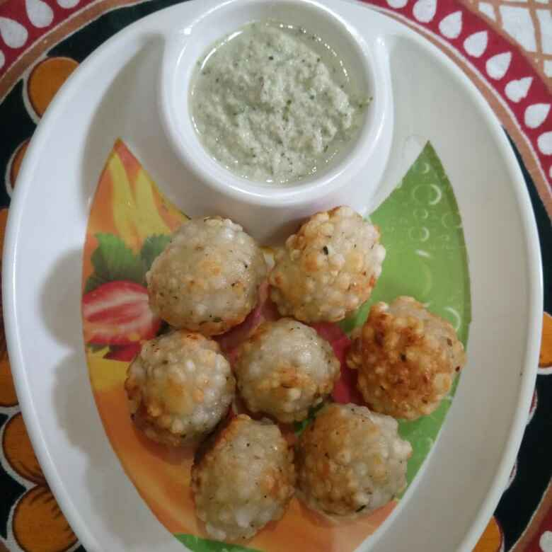 How to make Sago vada in appe pan