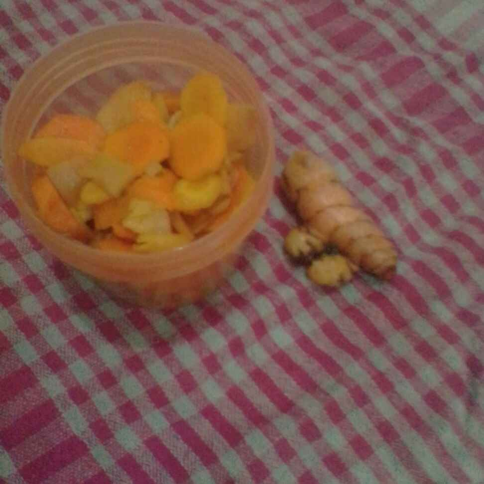 Photo of Fresh turmeric pickle by Manasvi Pawar at BetterButter