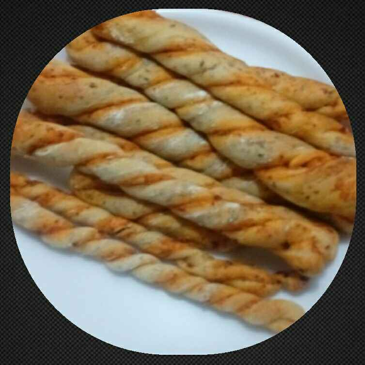 Photo of Whole wheat garlic masala bread sticks by Mandeep hundal at BetterButter