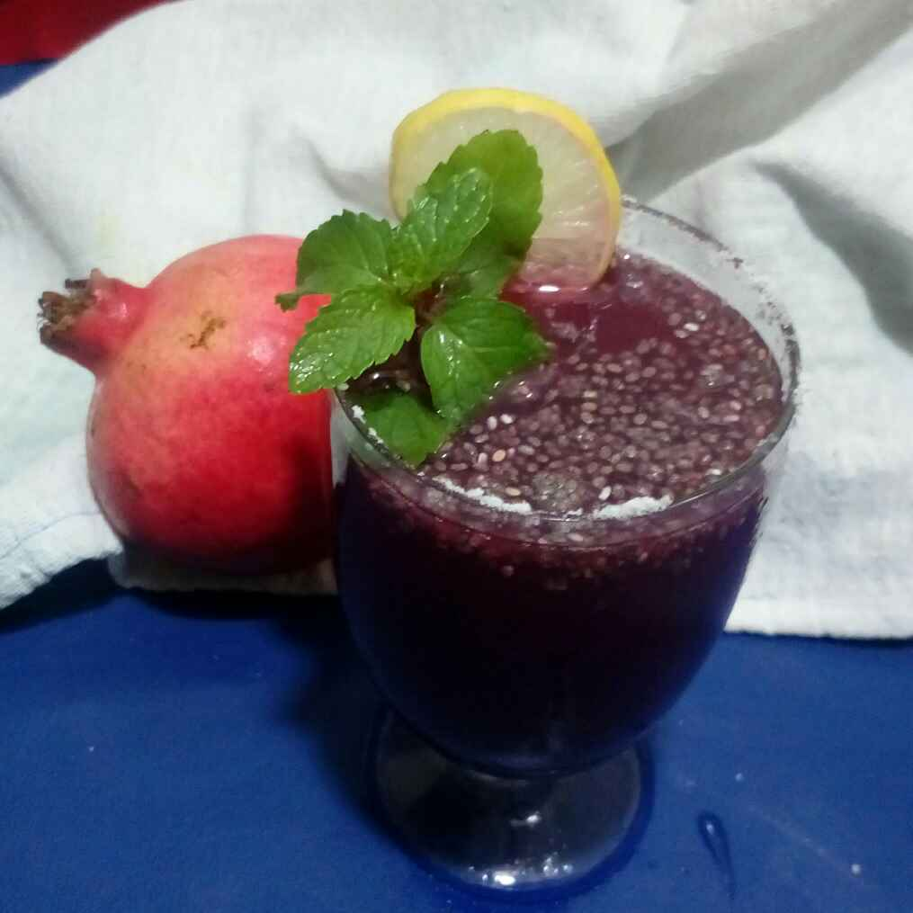 How to make Pomegranate Chia Healthy Drink