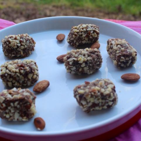 Photo of Date-Almonds Sugar-Free Rolls by Mani Mukhija at BetterButter