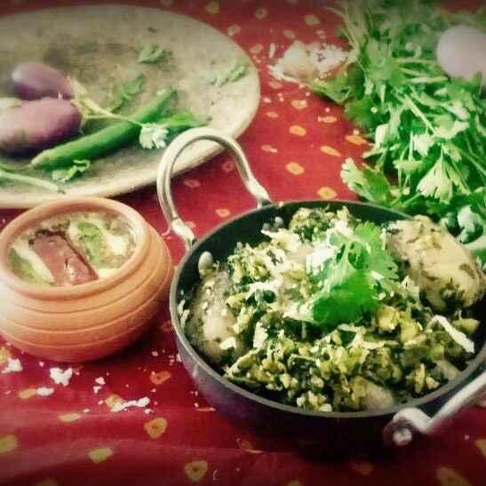 How to make Hariyali shaak