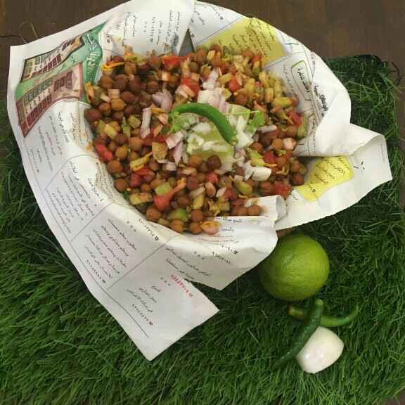 How to make Black channa chaat