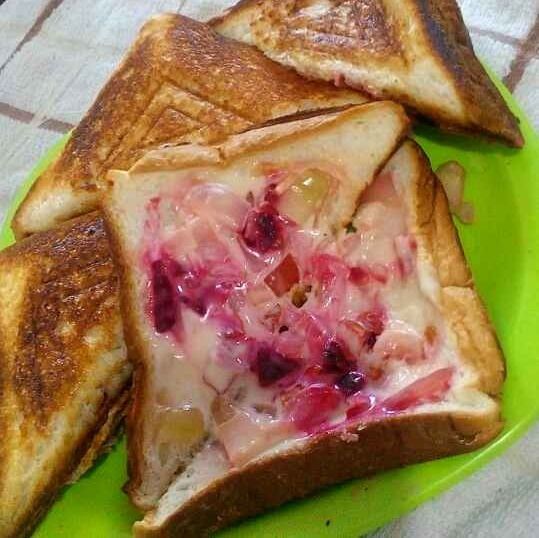 Photo of Mix vegetable  cheese sandwich  by Manisha Jain at BetterButter