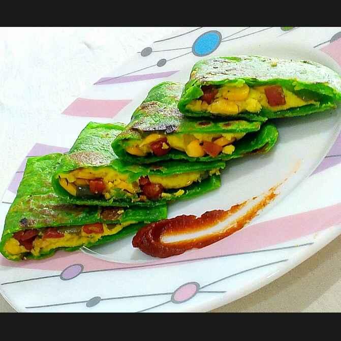 Photo of Vegetable quesadilla by Manisha Jain at BetterButter