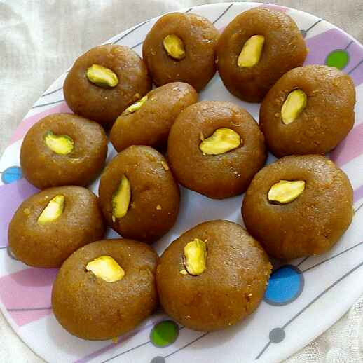 How to make Moong Dal Peda With Mango Twist