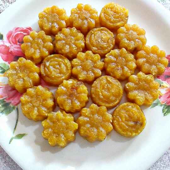How to make Mango coconut flower candy