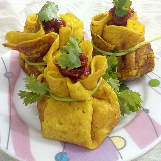 How to make Moong dal chila potli