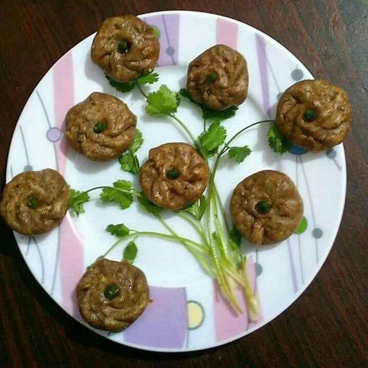 Photo of Water chestnut flour momos by Manisha Jain at BetterButter
