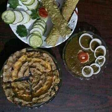How to make Khuba roti aur chane sarson ka saag