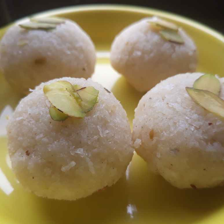 How to make Coconut Ladoo (No cook Recipe)