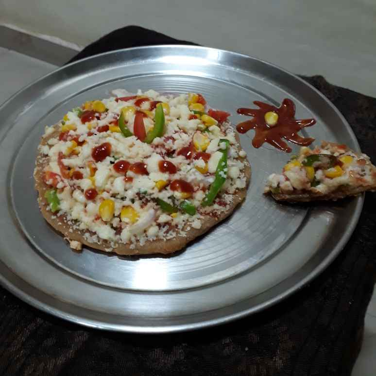 Photo of Whole Wheat Flour Pan Pizza by Manisha Lande at BetterButter