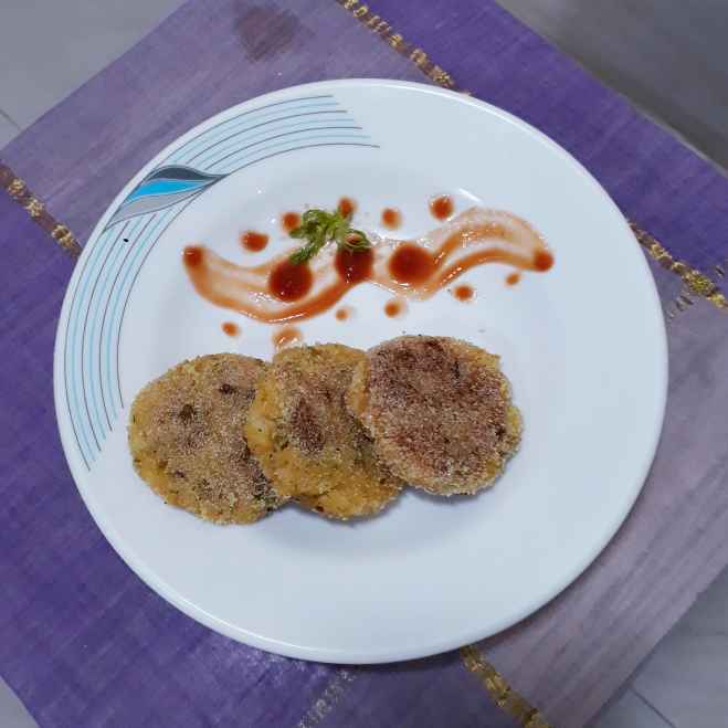Photo of Crispy Batata Poha Tikki by Manisha Lande at BetterButter