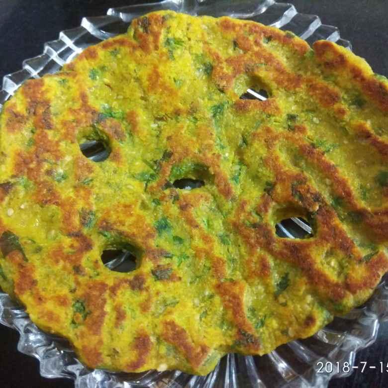 Photo of Mix flour thalipeeth by Manisha Sanjay at BetterButter