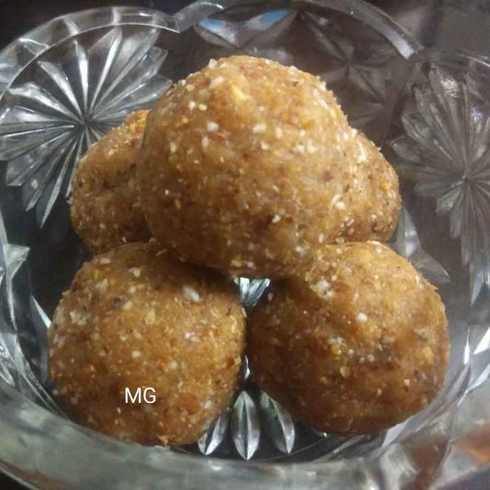 Photo of Dink ladoo by Manisha Sanjay at BetterButter