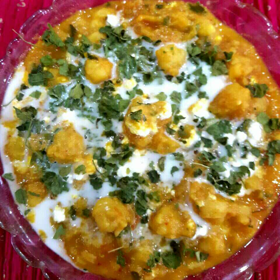 How to make Butter Chole Paneer