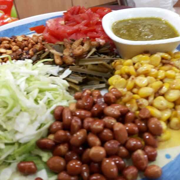 Photo of Pickled Tea Leaf Salad (A Burmese salad) by Manisha Shukla at BetterButter