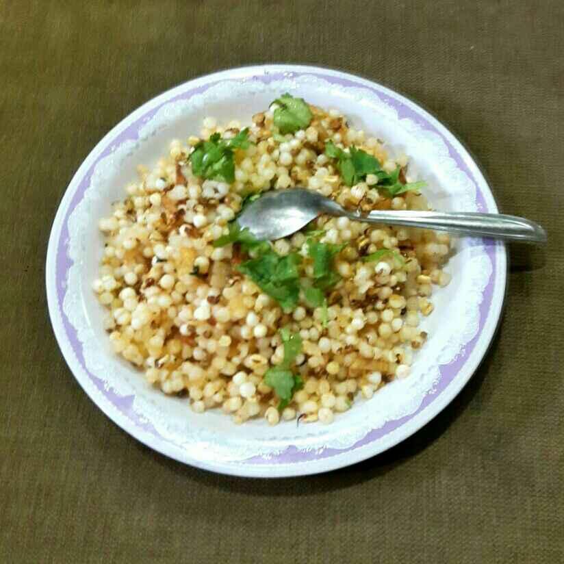 Photo of Sabudana Khichadi with added Proteins. by Manisha Shukla at BetterButter