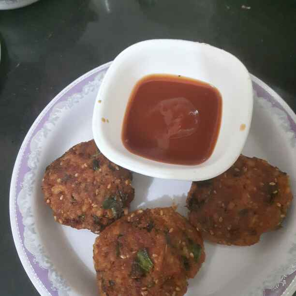 How to make Whole Meal Chicken Pattie ( especially for kids)