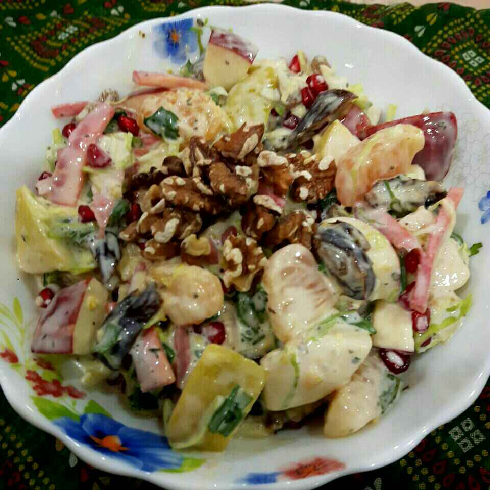 How to make My Own Waldorf Salad