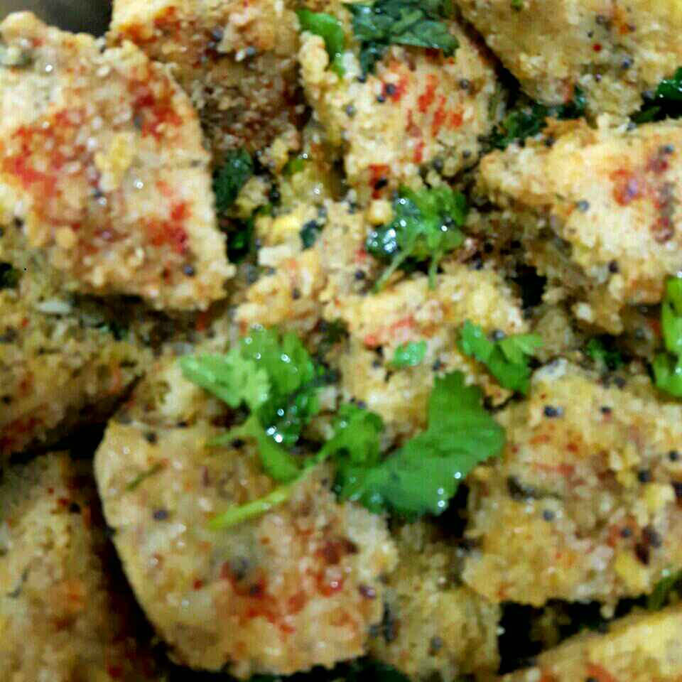 Photo of Rice and Pulse vege Dhokla by Manisha Shukla at BetterButter