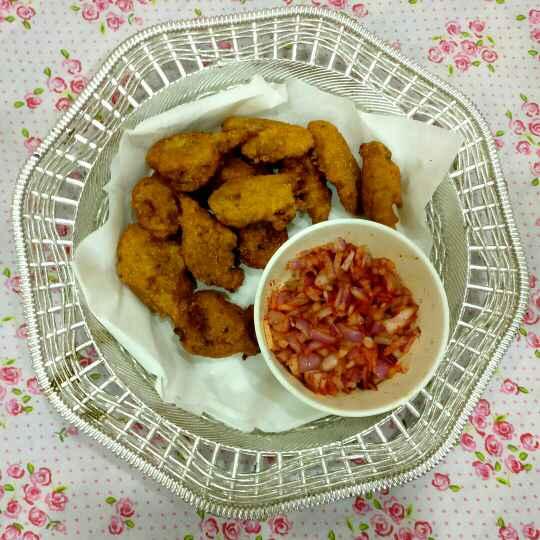 Photo of Appealing Chicken and Soya Pakoda. . by Manisha Shukla at BetterButter