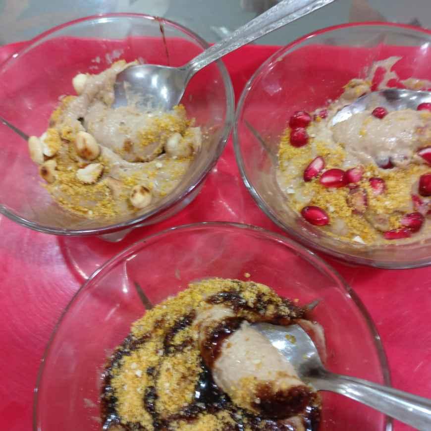 Photo of Banana peanut butter choco ice creame (kids recepie). by Manisha Shukla at BetterButter